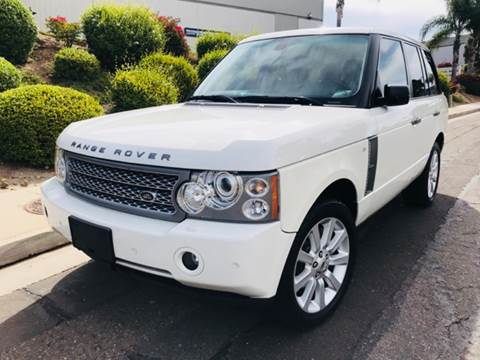 2007 Land Rover Range Rover for sale at Bozzuto Motors in San Diego CA