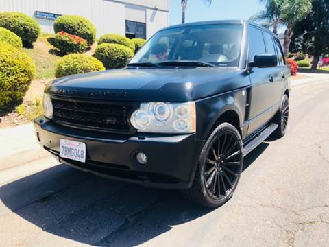 2006 Land Rover Range Rover for sale at Bozzuto Motors in San Diego CA
