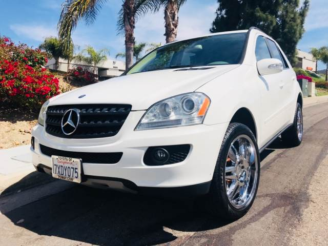 2006 Mercedes Benz M Class Awd Ml 350 4matic 4dr Suv In San Diego Ca