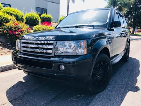 2008 Land Rover Range Rover Sport for sale at Bozzuto Motors in San Diego CA