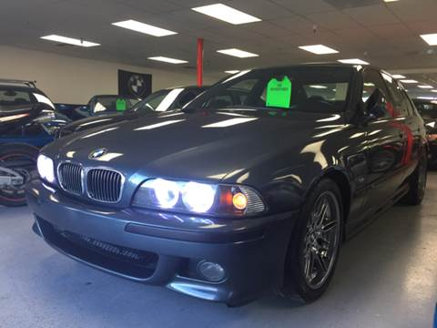2000 BMW M5 for sale at Bozzuto Motors in San Diego CA