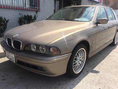 2002 BMW 5 Series for sale at Bozzuto Motors in San Diego CA