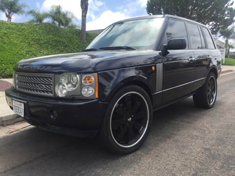 2003 Land Rover Range Rover for sale at Bozzuto Motors in San Diego CA
