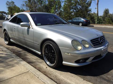 2003 Mercedes-Benz CL-Class for sale at Bozzuto Motors in San Diego CA