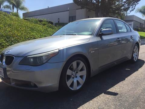 2006 BMW 5 Series for sale at Bozzuto Motors in San Diego CA