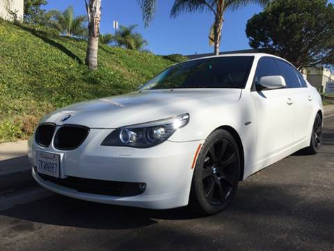 2009 BMW 5 Series for sale at Bozzuto Motors in San Diego CA