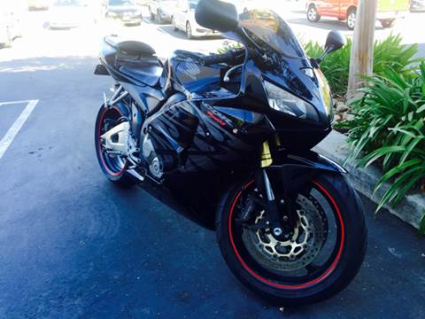 2005 Honda CBR600RR for sale at Bozzuto Motors in San Diego CA