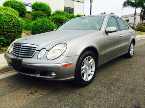 2006 Mercedes-Benz E-Class for sale at Bozzuto Motors in San Diego CA