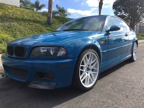 2001 BMW M3 for sale at Bozzuto Motors in San Diego CA