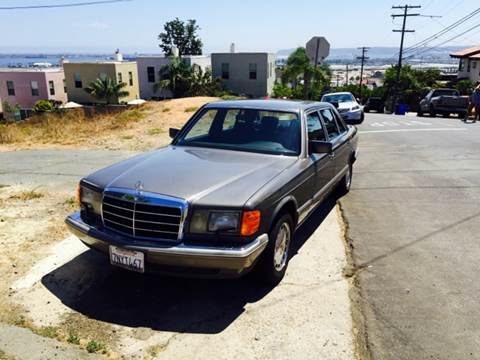 1990 Mercedes-Benz 560-Class for sale at Bozzuto Motors in San Diego CA