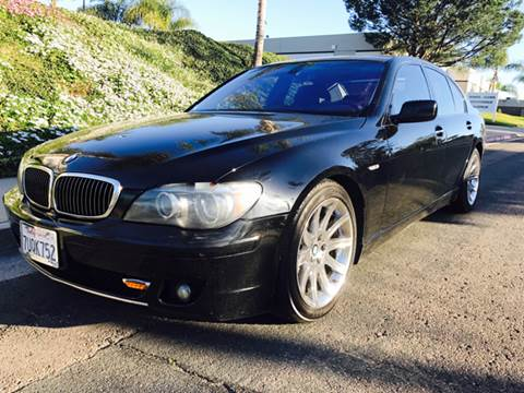 2006 BMW 7 Series for sale at Bozzuto Motors in San Diego CA
