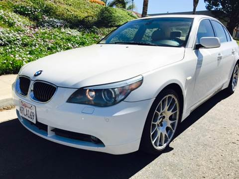 2004 BMW 5 Series for sale at Bozzuto Motors in San Diego CA