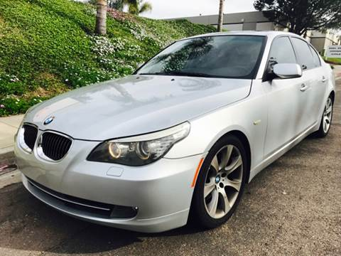 2008 BMW 5 Series for sale at Bozzuto Motors in San Diego CA
