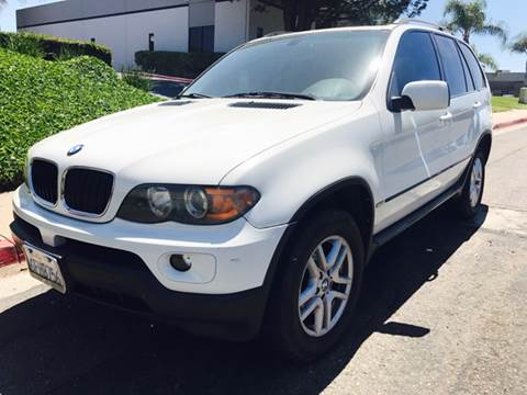 2005 BMW X5 for sale at Bozzuto Motors in San Diego CA