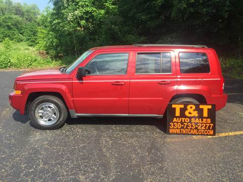 2010 Jeep Patriot for sale at T & T Auto Sales in Akron OH