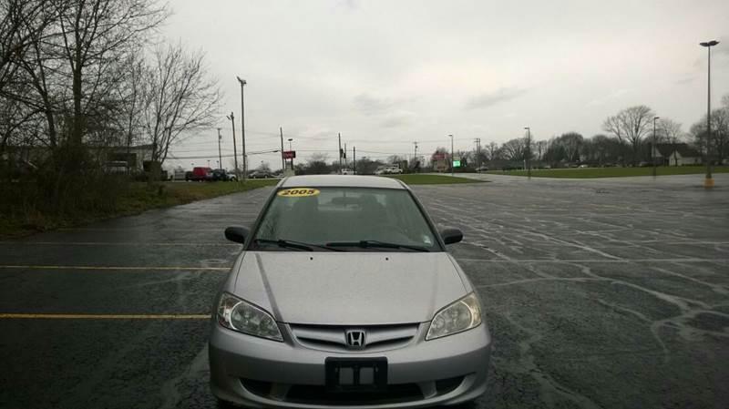 2005 Honda Civic LX 4dr Sedan - Akron OH