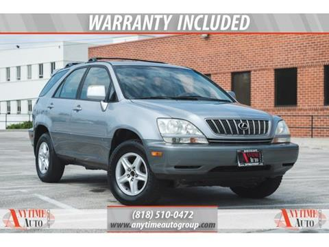 2002 Lexus RX 300 for sale in Sherman Oaks, CA