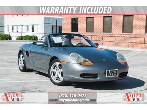 2001 Porsche Boxster for sale in Sherman Oaks, CA