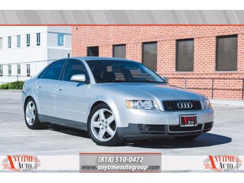 2002 Audi A4 for sale in Sherman Oaks, CA