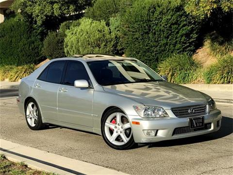 2001 Lexus IS 300 for sale in Sherman Oaks, CA