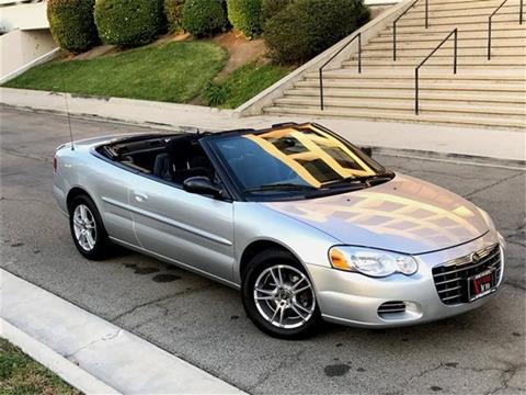 2004 Chrysler Sebring for sale in Sherman Oaks, CA