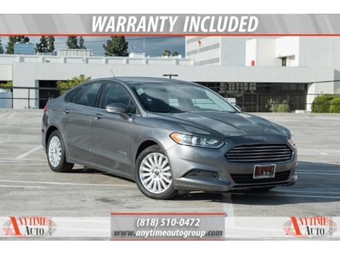 2013 Ford Fusion Hybrid for sale in Sherman Oaks, CA