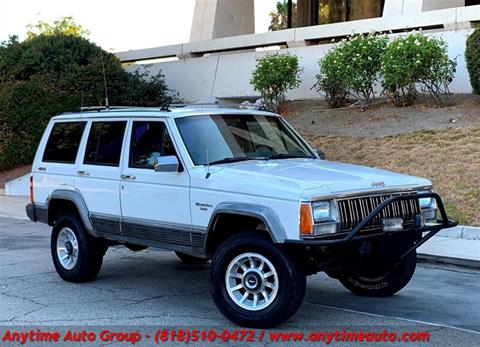1989 Jeep Cherokee for sale in Sherman Oaks, CA