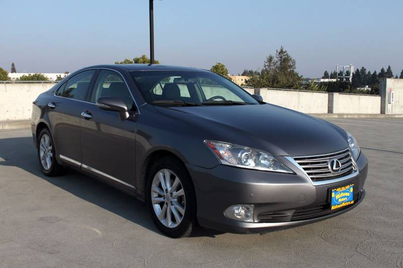 2012 LEXUS ES 350 BASE 4DR SEDAN gray exhaust - dual tip body side moldings - chrome mirror col