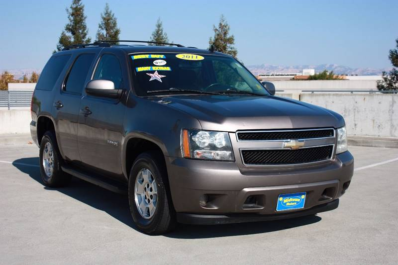 2011 CHEVROLET TAHOE LS 4X2 4DR SUV pewter running board color - black running boards - step bo
