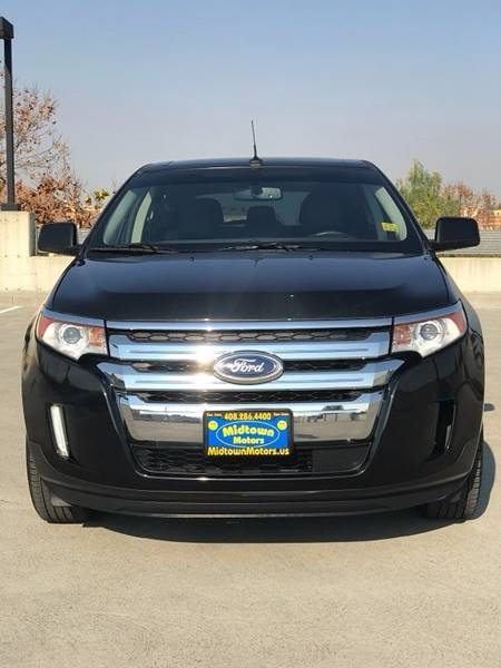 2011 FORD EDGE LIMITED 4DR CROSSOVER black exhaust - dual tip body side moldings - chrome door