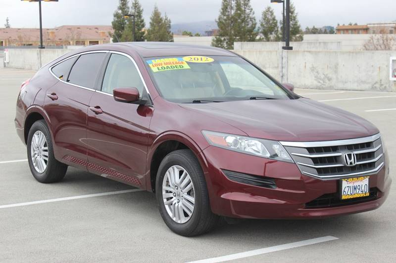 2012 HONDA CROSSTOUR EX L 4DR CROSSOVER burgundy door handle color - body-color exhaust tip colo