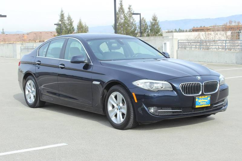 2011 BMW 5 SERIES 528I 4DR SEDAN blue good credit financing rate as low as 19 apr with 0 down