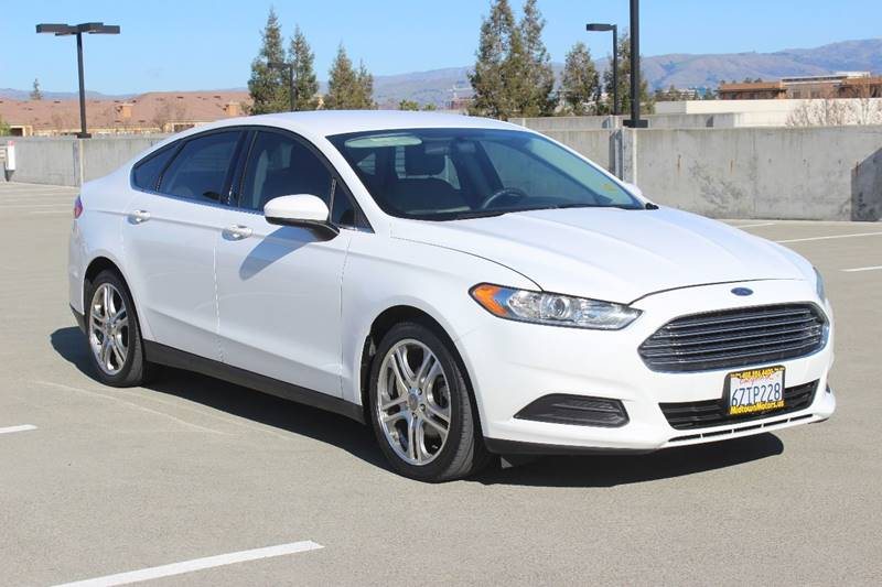 2013 FORD FUSION S 4DR SEDAN white door handle color - body-color front bumper color - body-colo