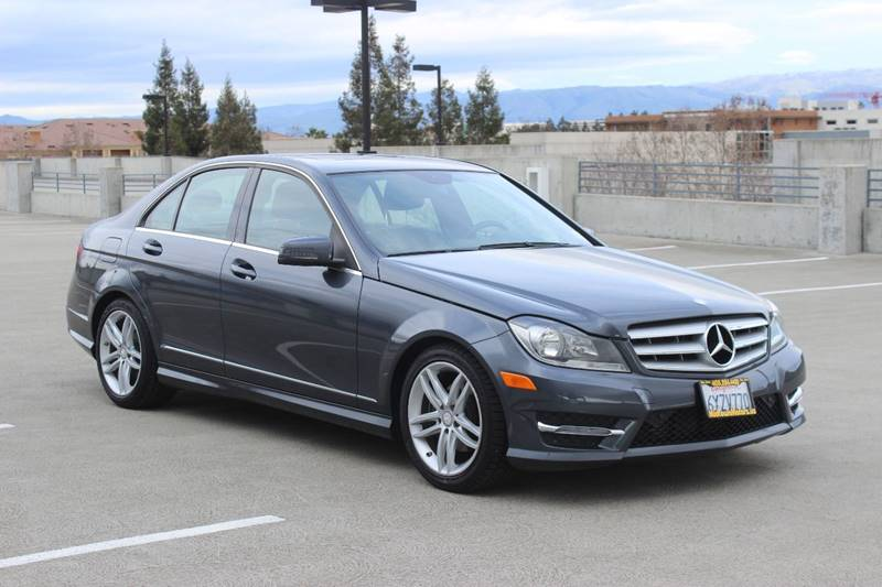 2013 MERCEDES-BENZ C-CLASS C 250 SPORT 4DR SEDAN gray front bumper color - body-color grille col