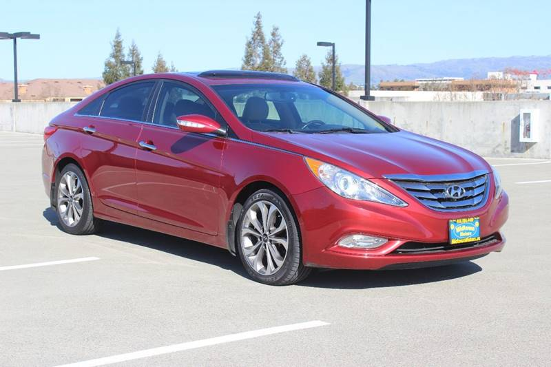2013 HYUNDAI SONATA LIMITED 20T 4DR SEDAN red exhaust - dual tip door handle color - chrome ex