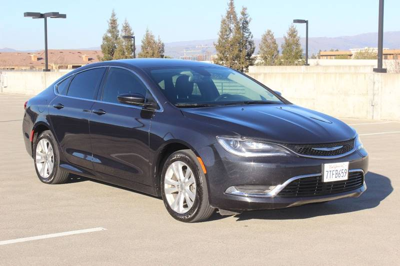 2016 CHRYSLER 200 LIMITED PLATINUM 4DR SEDAN gray exhaust - hidden door handle color - body-colo