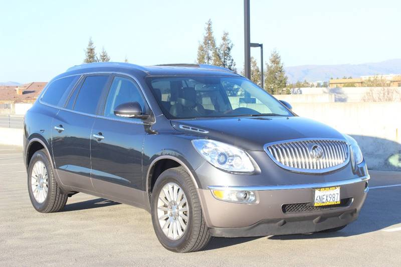 2011 BUICK ENCLAVE CXL 1 4DR CROSSOVER W1XL gray exhaust - dual tip exhaust tip color - chrome