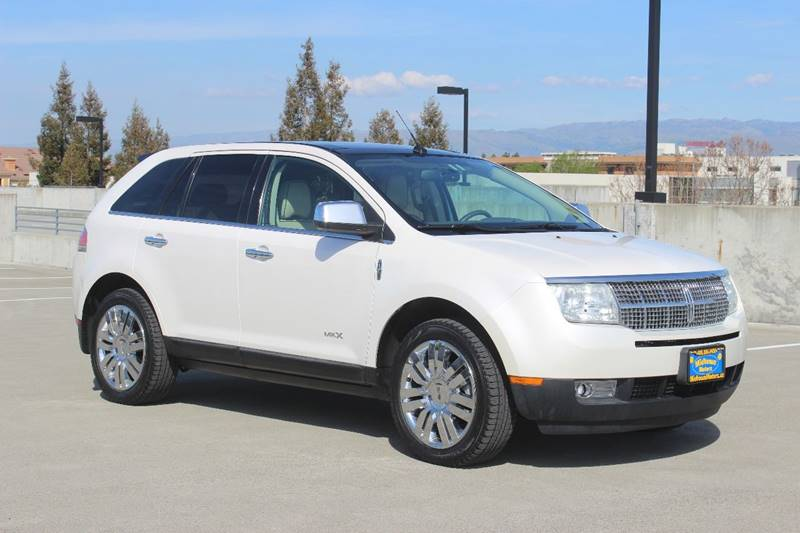 2010 LINCOLN MKX BASE 4DR SUV white exhaust - dual tip body side moldings - chrome door handle