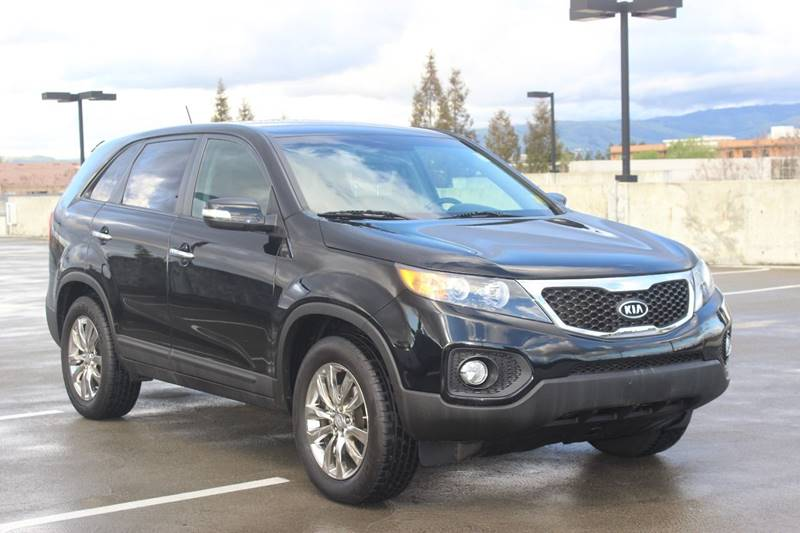 2011 KIA SORENTO EX 4DR SUV black door handle color - body-color front bumper color - body-color