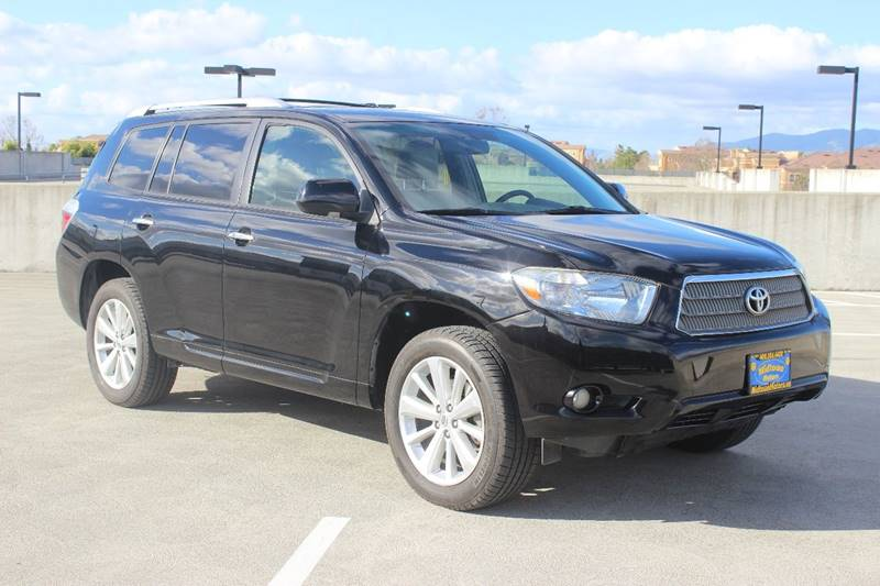 2008 TOYOTA HIGHLANDER HYBRID LIMITED AWD 4DR SUV black door handle color - chrome grille color -