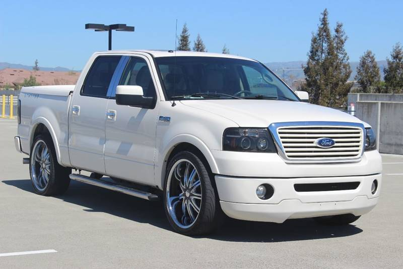2008 FORD F-150 LIMITED 4X2 4DR SUPERCREW STYLES white fender lip moldings - accent pickup bed l