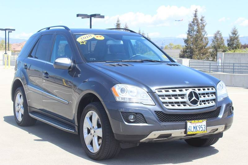 2010 MERCEDES-BENZ M-CLASS ML 350 4DR SUV gray window trim - chrome air filtration - active char