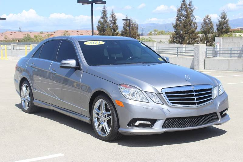 2011 MERCEDES-BENZ E-CLASS E 350 SPORT 4DR SEDAN gray grille color - chrome air filtration armr