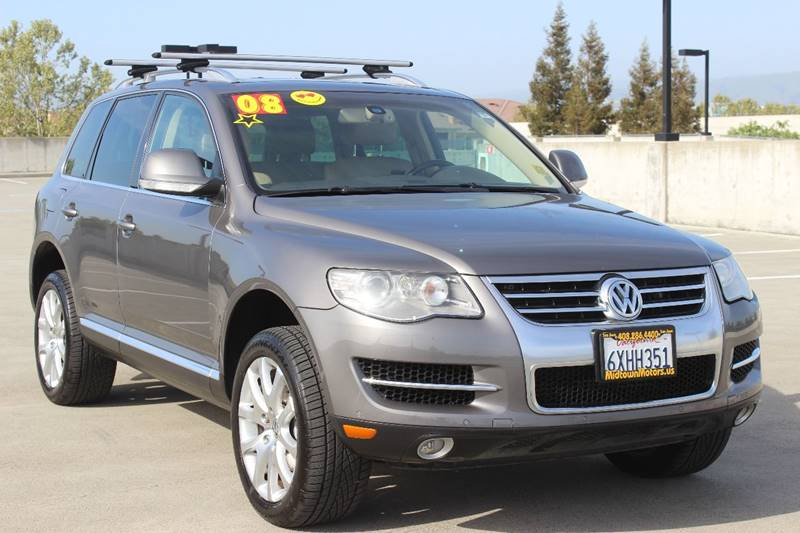2008 VOLKSWAGEN TOUAREG 2 V8 FSI AWD 4DR SUV silver exhaust - dual tip exhaust tip color - chrom