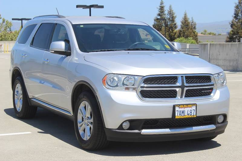 2013 DODGE DURANGO CREW 4DR SUV silver fender lip moldings - accent grille color - accent headl