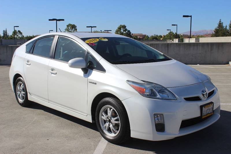 2010 TOYOTA PRIUS I 4DR HATCHBACK white mirror color - body-color rear spoiler air filtration