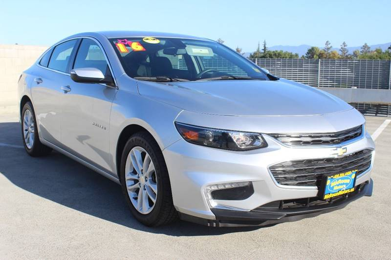2016 Chevrolet Malibu For Sale At Midtown Motors In San Jose CA
