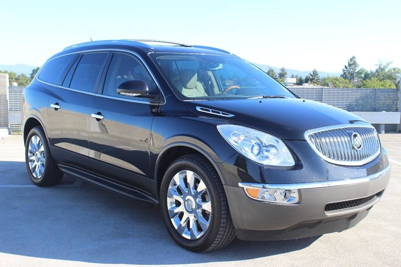 2012 BUICK ENCLAVE PREMIUM 4DR CROSSOVER black exhaust - dual tip headlight bezel color - chrome
