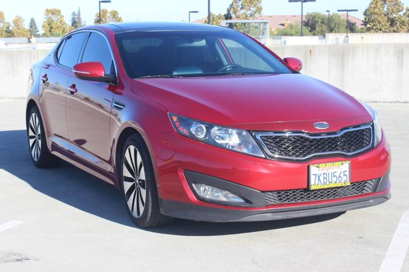2012 Kia Optima For Sale At Midtown Motors In San Jose CA