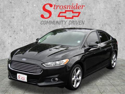 2014 Ford Fusion for sale in Hopewell, VA